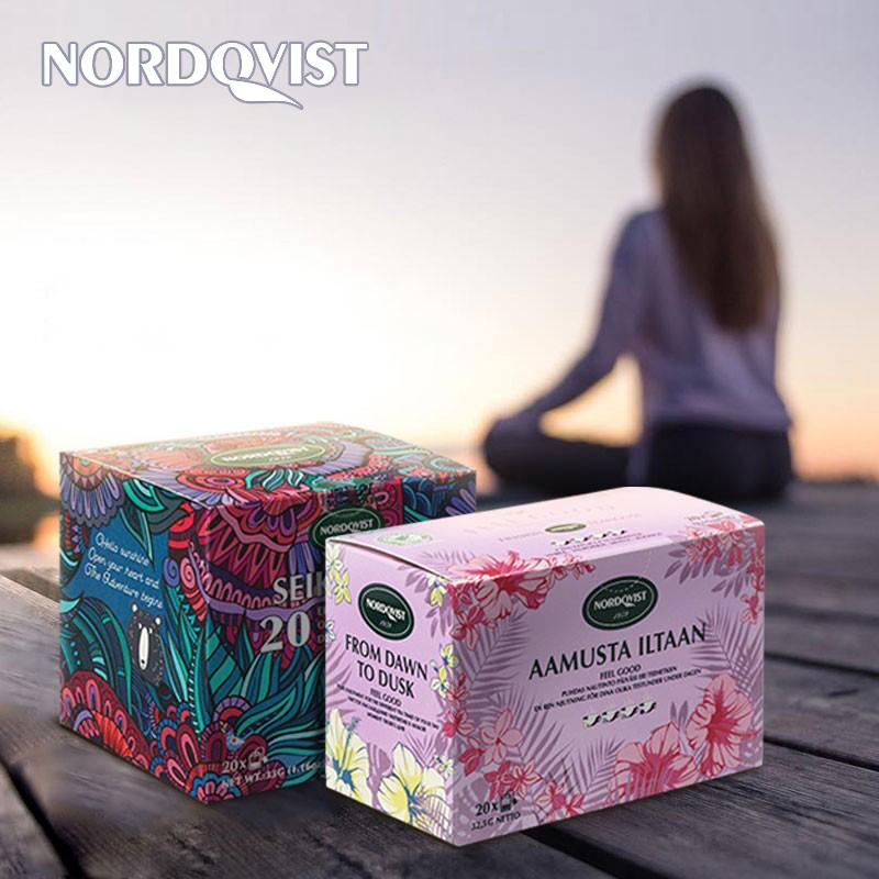 20袋芬兰拼配组合茶花草水果茶包
