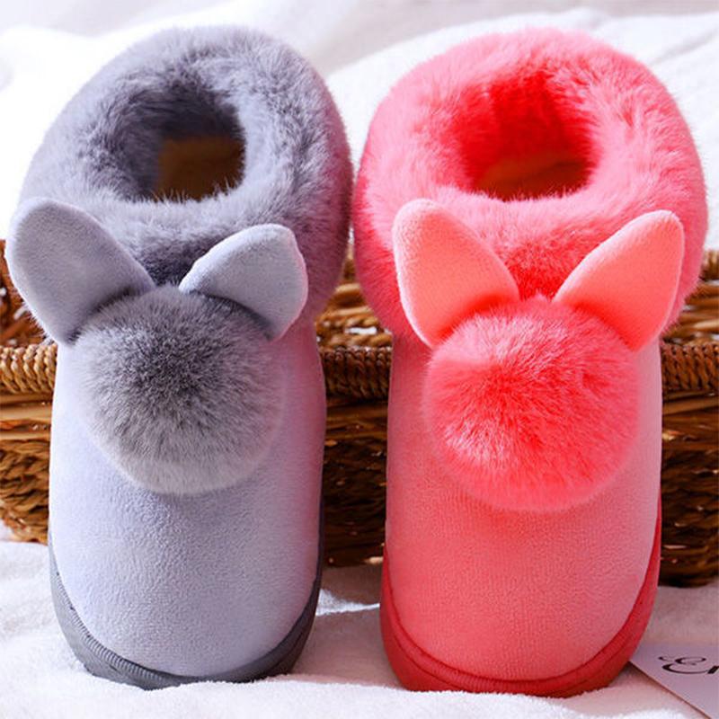 秋冬季情侣拖鞋女防滑防臭室内外居家加绒厚底包根月子鞋棉拖鞋