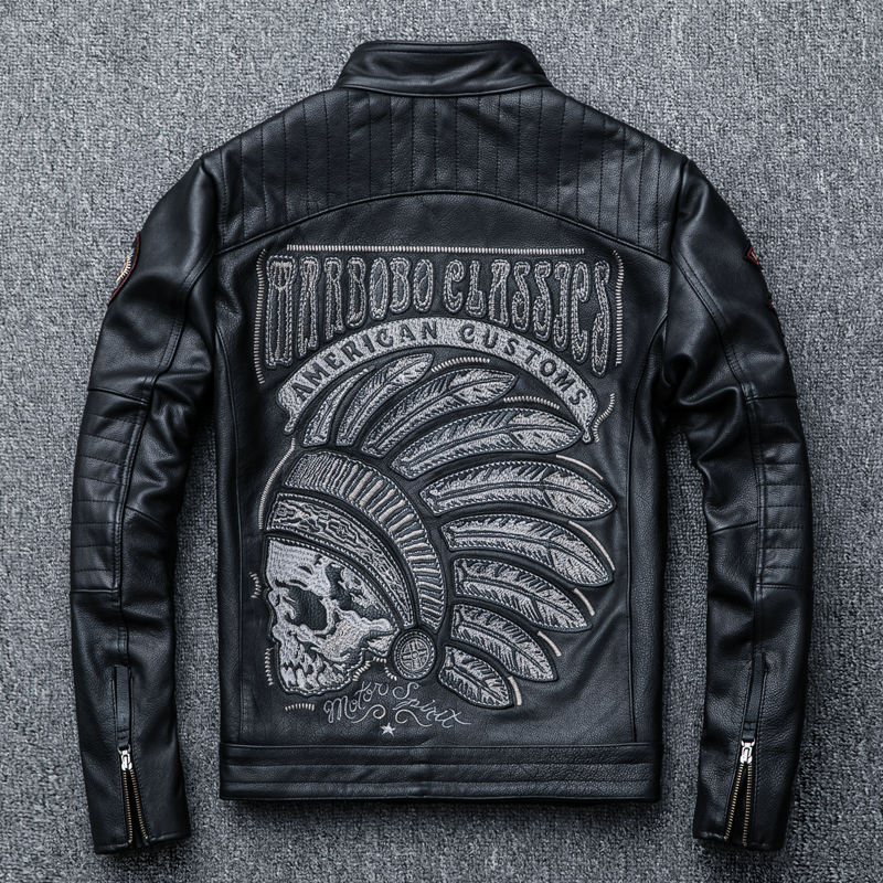 Usd 198 13 Europe And The United States Embroidery Men S Motorcycle