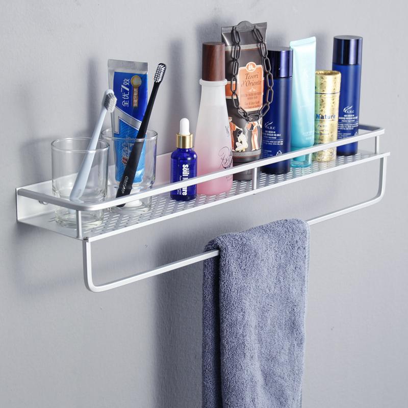免打孔浴室置物架吸壁式洗手间收纳架子卫生间厕所洗漱台壁挂三角