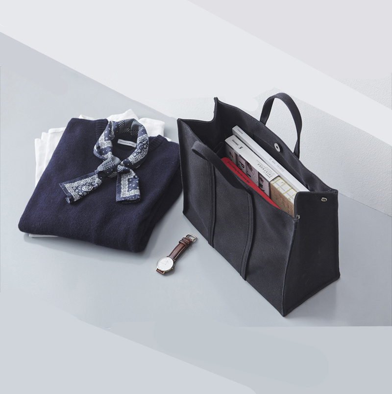 cb3133bbe4 Custom LOGO Korea Simple Business Briefcase Women Canvas Tote Bag File Pack  Casual Student Bag Cloth Bag - BuyChinaFrom.com - Buy China shop at  Wholesale ...