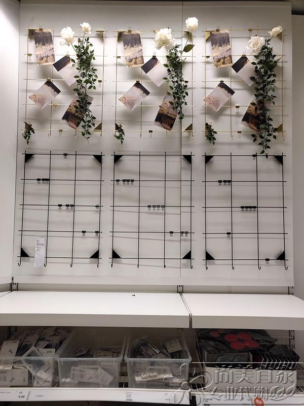 宜家米赫顿展示板带夹照片墙公告板代购栏记事板国内留言