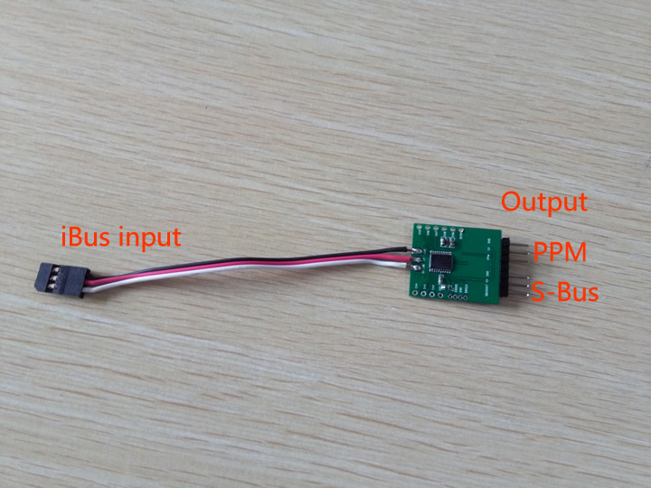 Flysky ibus to ppm converter rc groups