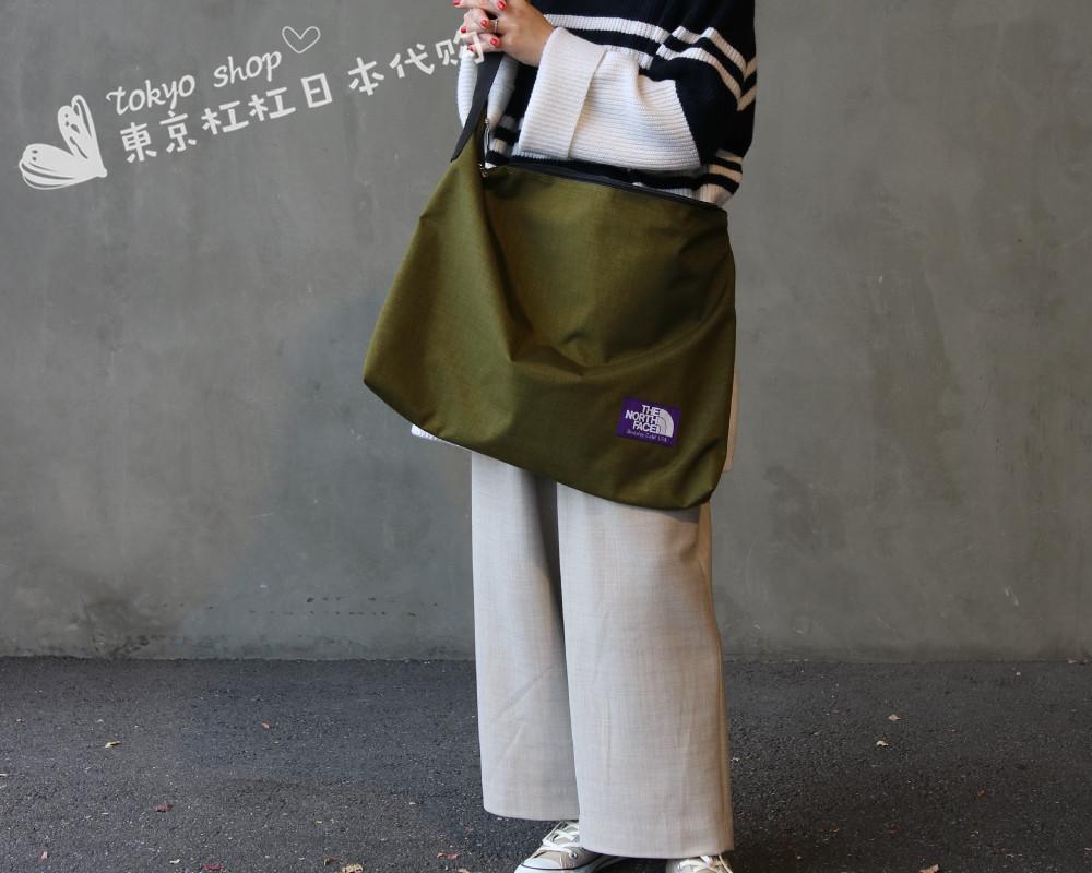 f4fb20432 THE NORTH FACE PURPLE LABEL Shoulder Bag 19SS Purple Label Crossbody Bag