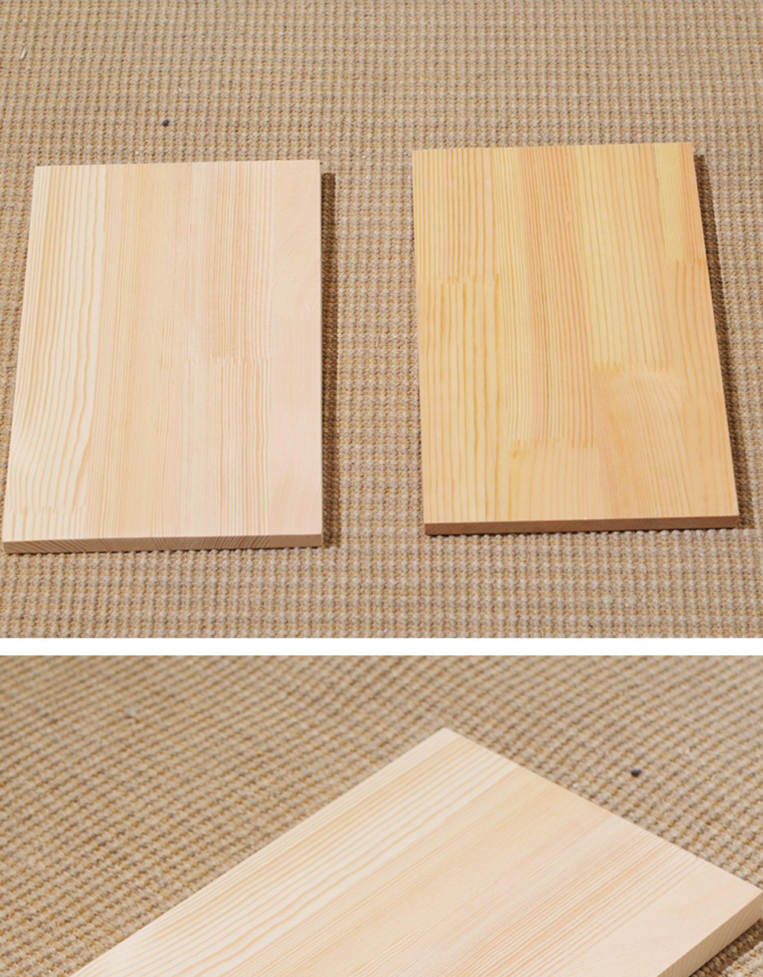 定製实木清漆一字隔板墙上置物架免打孔隔板墙壁木板材料书架层板详细照片
