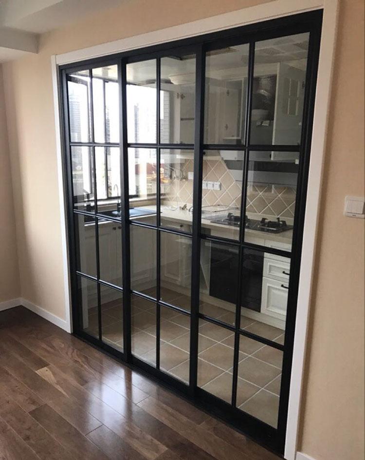 Balcony Sliding Door Balcony Glass Doors: [USD 29.82] Kitchen Sliding Door Narrow Frame Three Linked