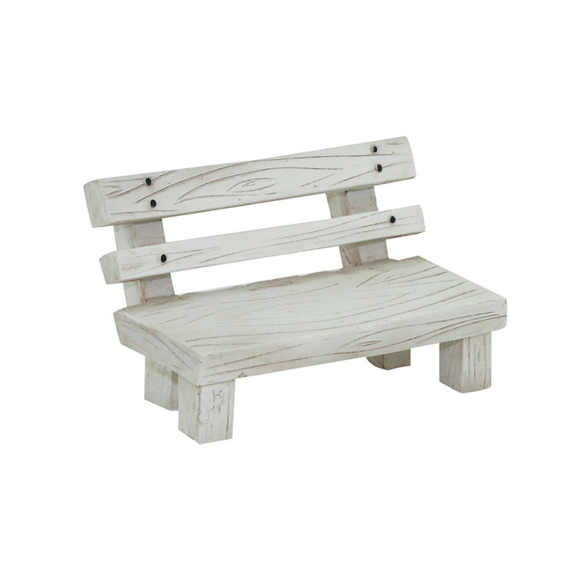 Swell Usd 7 97 Zakka Creative Country Bench Resin Crafts Home Dailytribune Chair Design For Home Dailytribuneorg