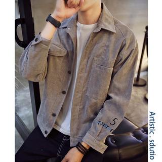 Куртки, ветровки,  Весна 2019 новый механическая обработка пальто мужской корейский красивый тенденция ковбой куртка популярный мужской весна весна, цена 862 руб