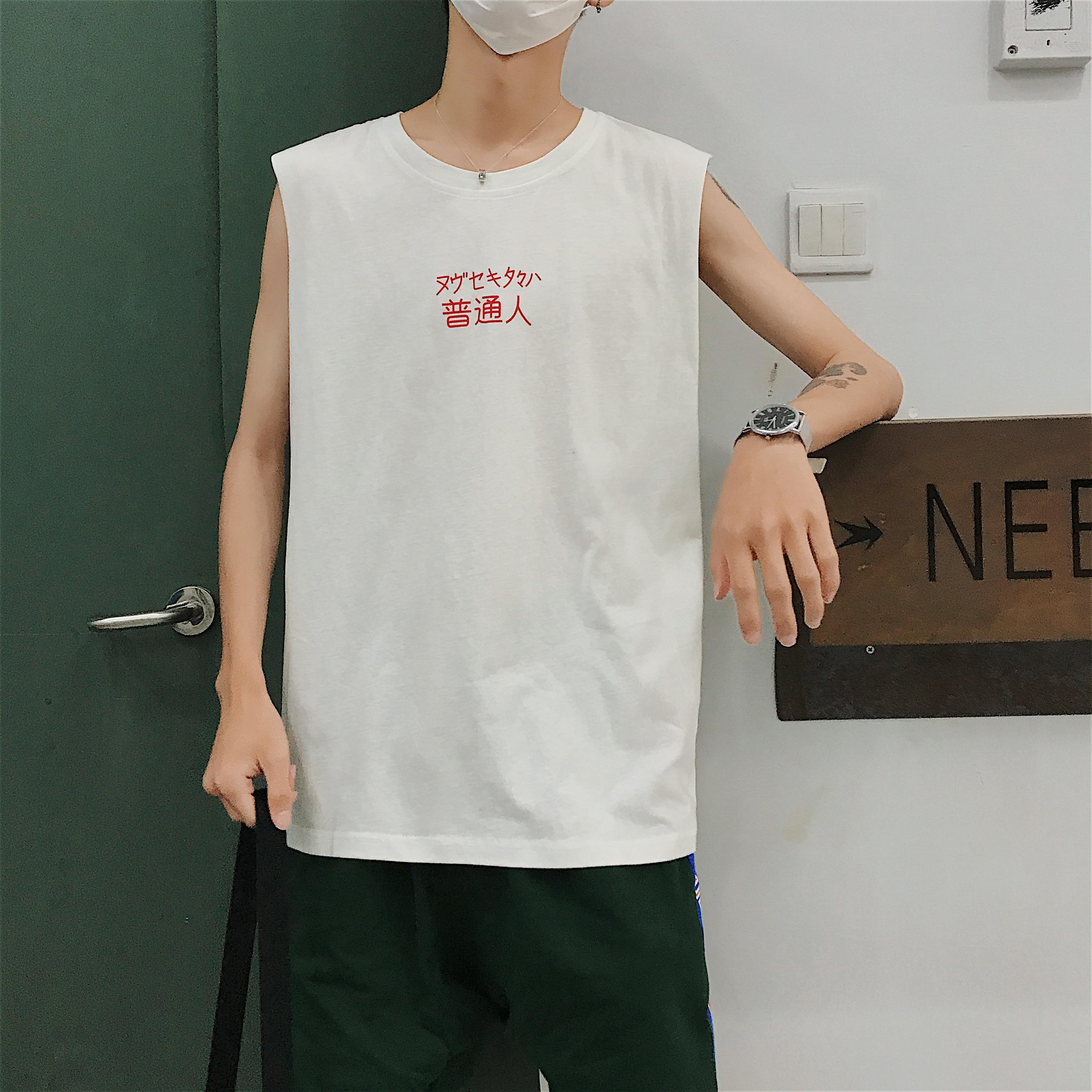 Summer Men S Fitness Vest Loose Basketball Clothes Hip Hop