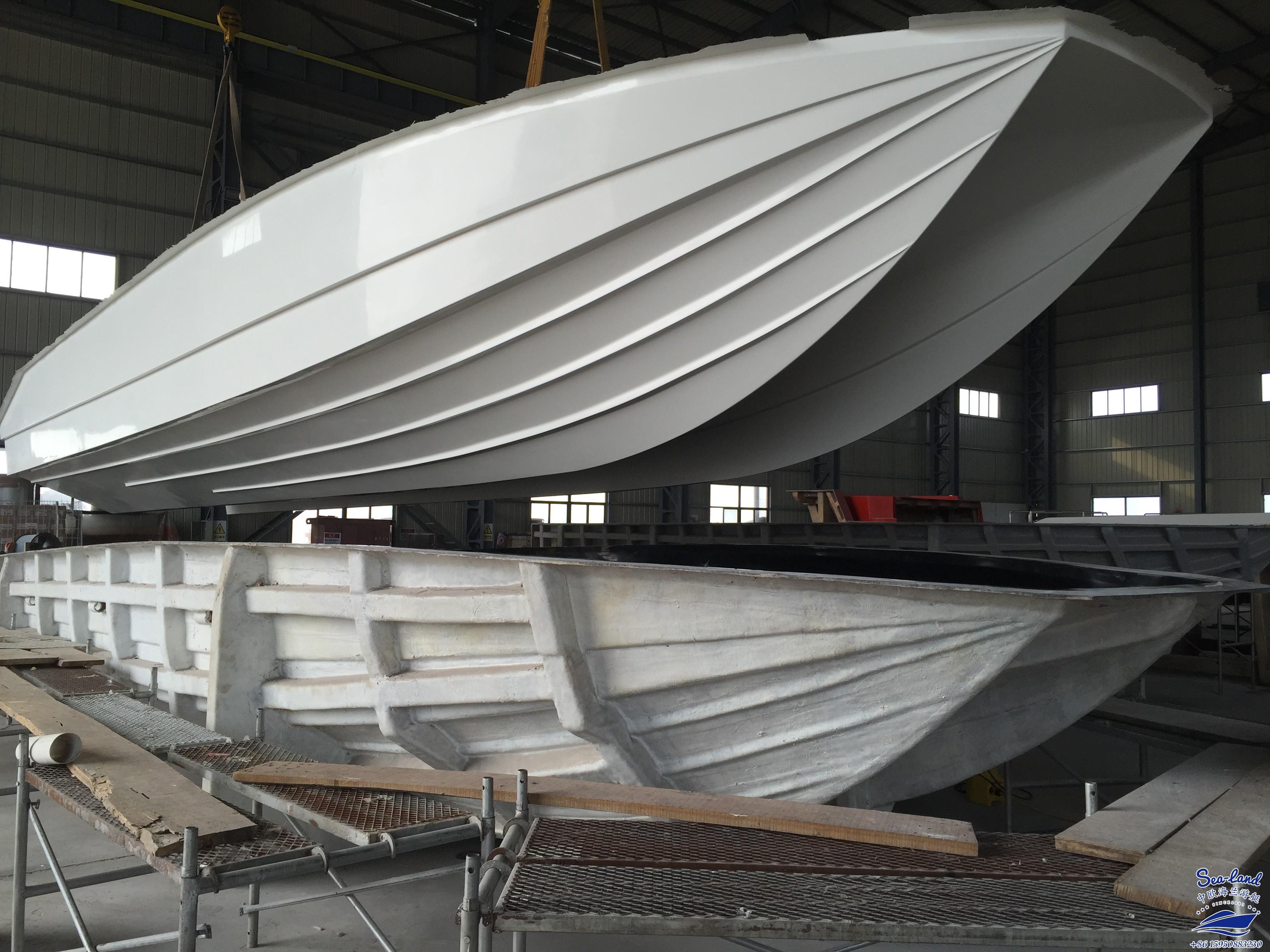 40英尺潜水交通船 冲锋艇 钓鱼艇 观光艇 豪华游艇 玻璃钢艇定制