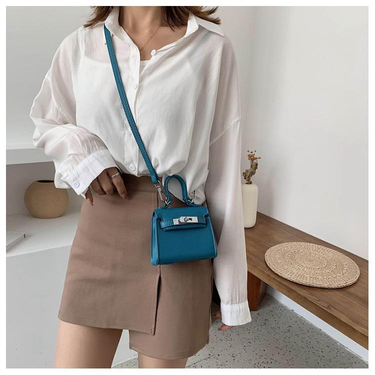 Korean fashion messenger mini bag  NHLH316853