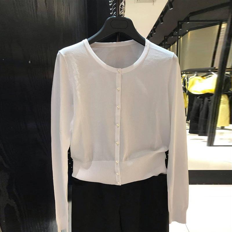 希哥弟思2020夏季新款正品外搭针织短款女薄外套小开衫1499069