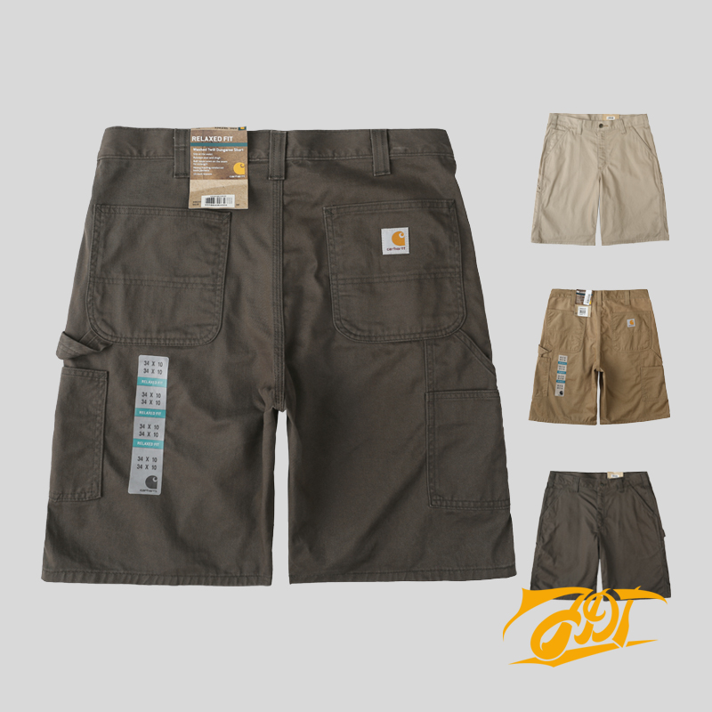 8432d45d3a Carhartt Washed Twill Dungaree Short # 100245 multi-pocket tooling shorts