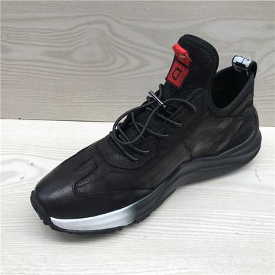 断码鞋特价男鞋 真皮头层牛皮韩版厚底超软舒适青年运动男单鞋c10