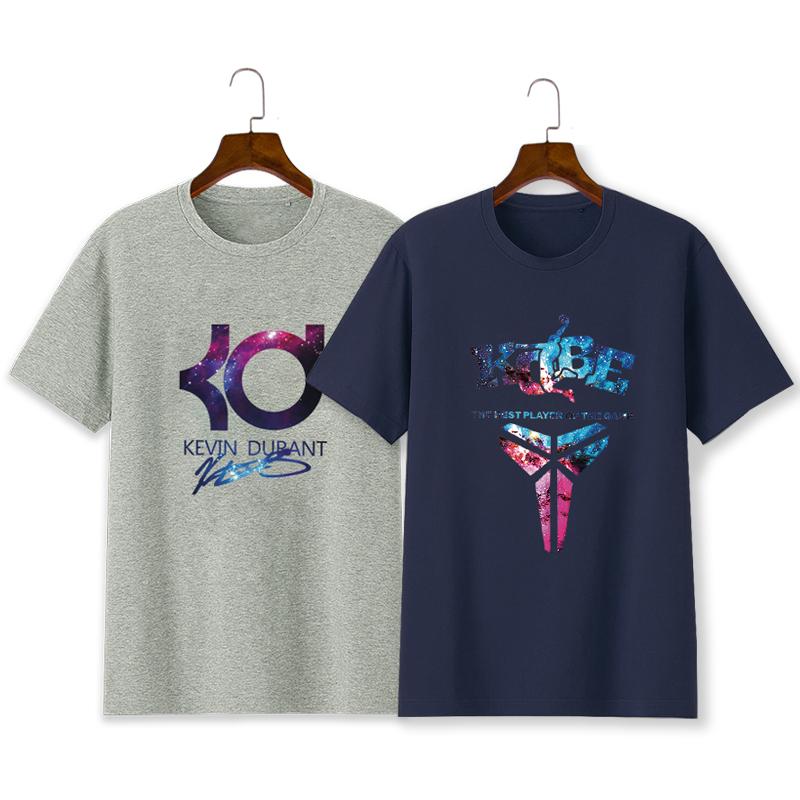 高乔耐克斯特新品科比库里杜兰特KD篮球T恤短袖半袖衣服潮流大码