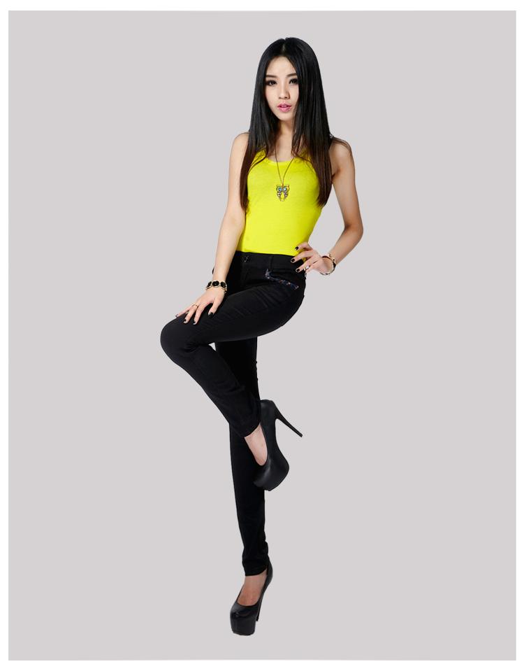 Pantalon collant jeunesse XGB8848 en coton - Ref 773168 Image 9