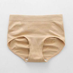 内裤女3D蜂巢暖宫三角裤收腹提臀女内裤