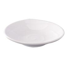 【密胺小吃碟】白色仿瓷餐厅碟商用