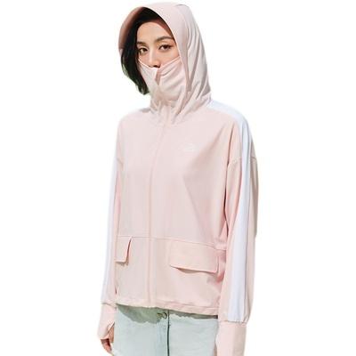 伯希和户外防晒衣女防紫外线透气皮肤风衣冰丝外套长袖运动防晒服