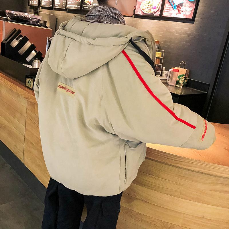 2019新款冬季棉衣男士棉服外套韩版修身潮流帅气短款男装羽绒棉袄