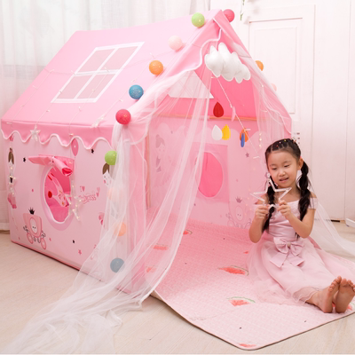 Children's tent indoor princess girl baby dream big game house small house home sleeping bed artifact