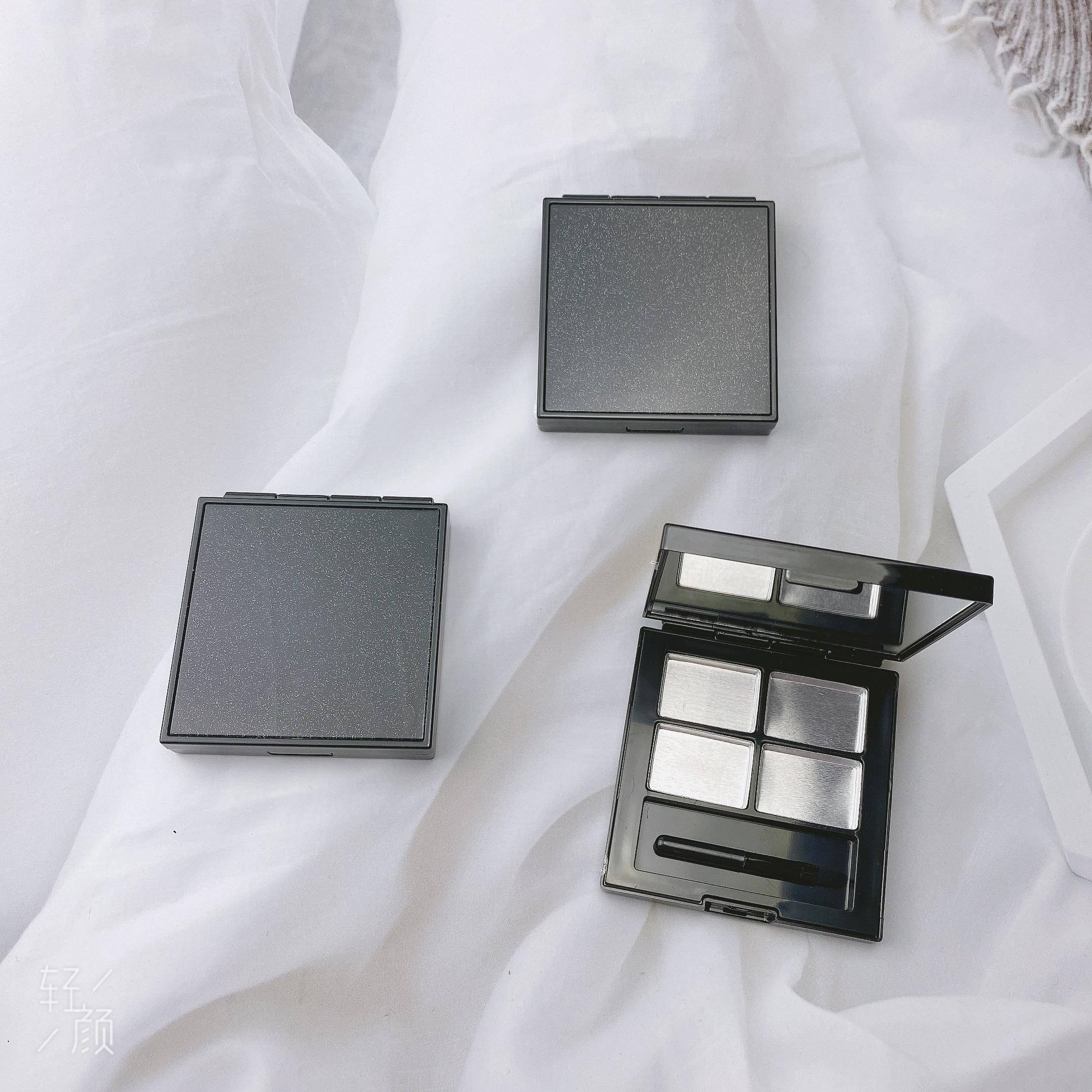 高檔星辰格试色口红分装盒手工眼影压盘工具自制彩妆空盘试用包详细照片