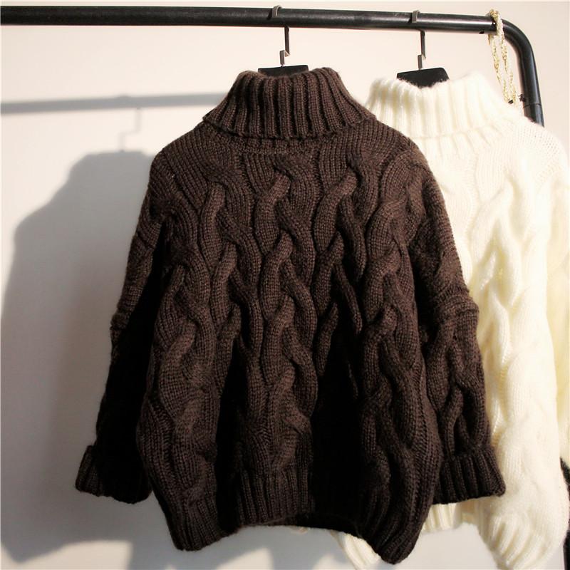 韩版秋冬季短款套头毛衣女长袖打底针织衫修身显瘦百搭学院风学生