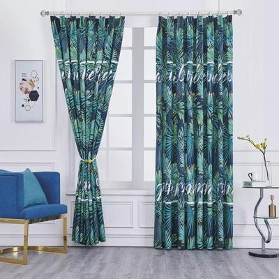 1m*2.25m家用客厅卧室窗帘门帘挂布