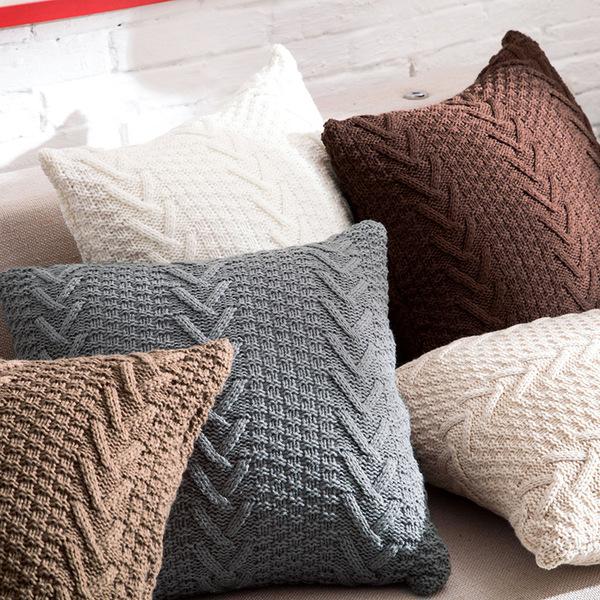 Долго дикий вечер нордический шерстяной ткать диван декоративный подушка талия подушка этаж сидеть подушка декоративный квадратные подушки глава подушка