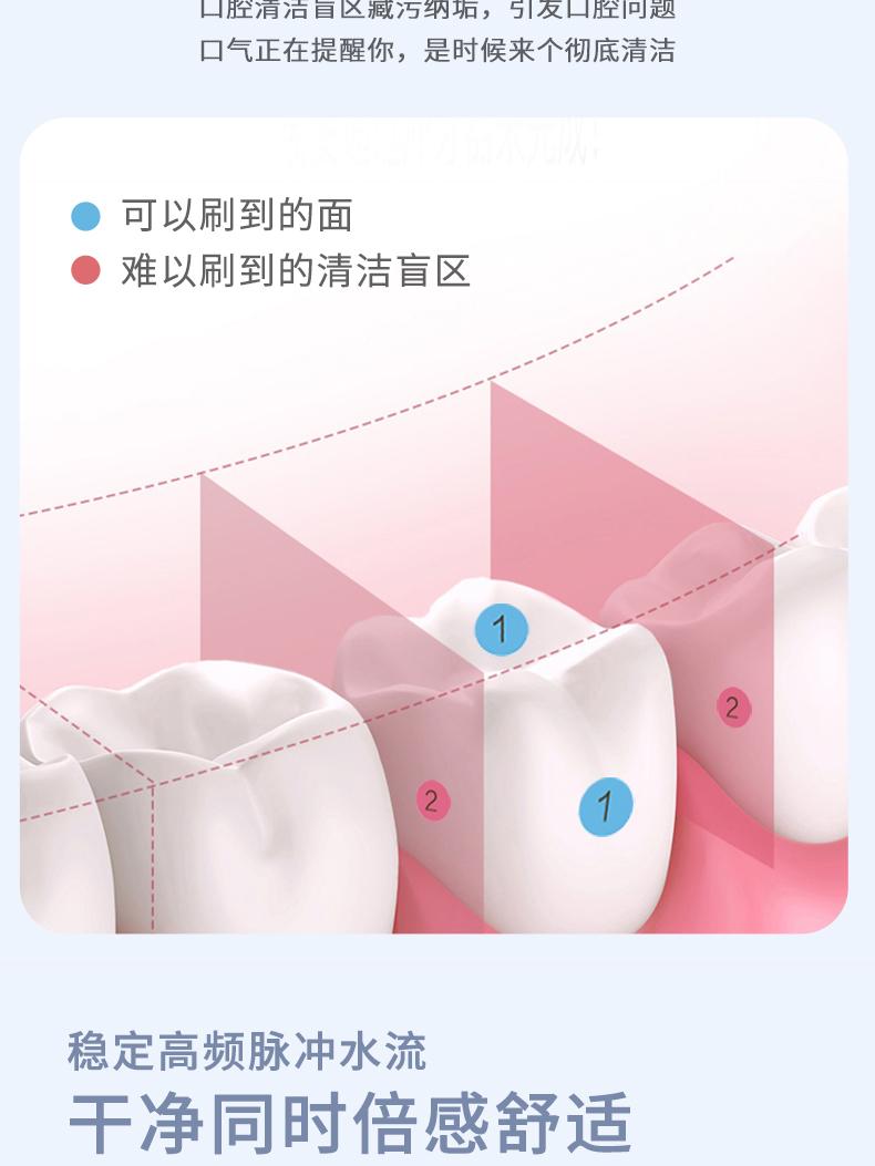 康恩寿 便携式智能电动冲牙器 图3