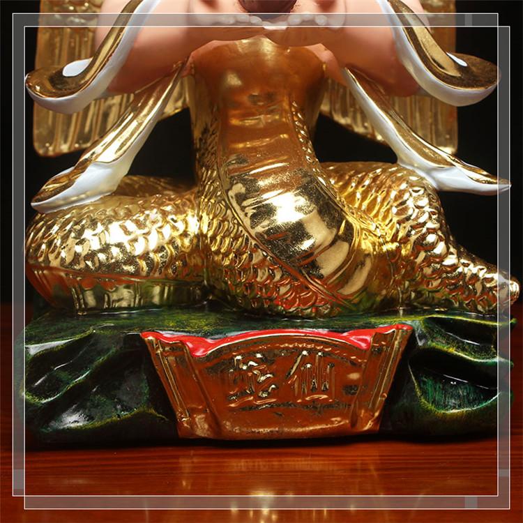 ༧༨如༸༹意⇝蛇仙蟒仙神像蛇仙神像保家仙鎮宅招財供佛樹脂佛像莽仙神像擺件ytgy-11