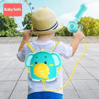 背包水枪儿童喷水玩具高压男女孩宝宝网红打水仗神器抽拉式水枪