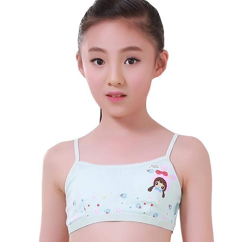 fd9f3fd35a8 Girls development period underwear vest cotton girl bra junior high school  students 9-12-