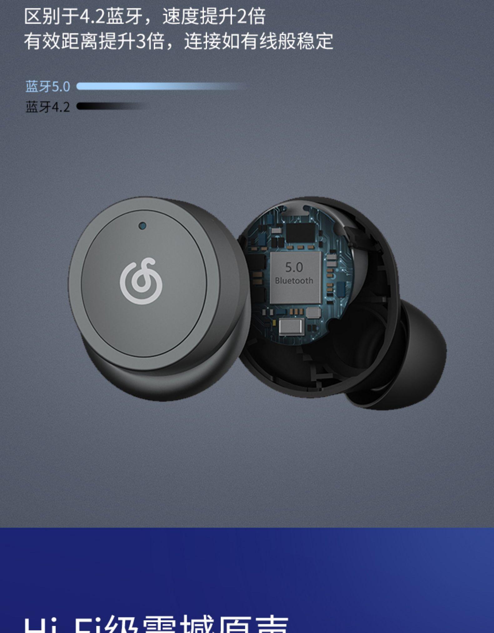 30天免费用:IPX5级防水,网易云音乐真无线耳机159元 第5张