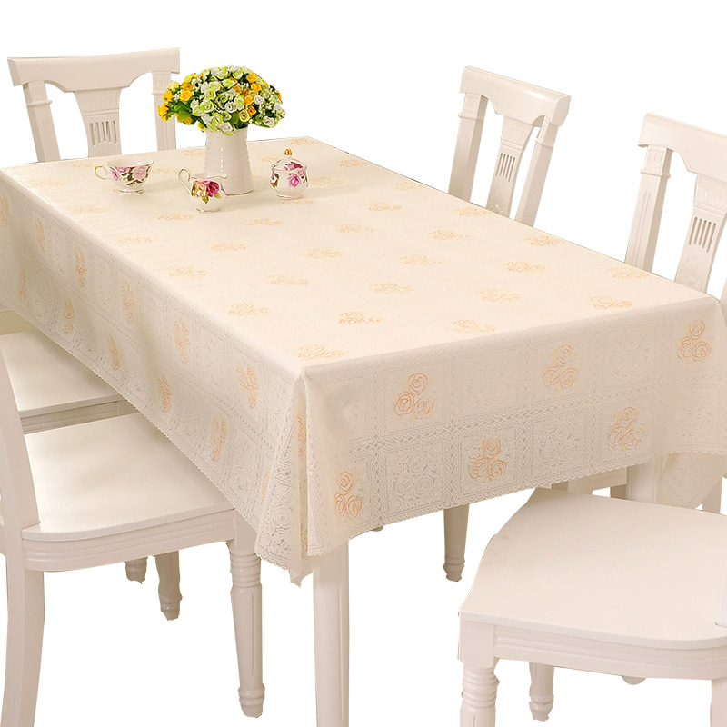 213b566a936 Table cloth waterproof and oilproof anti-scalding disposable plastic ...