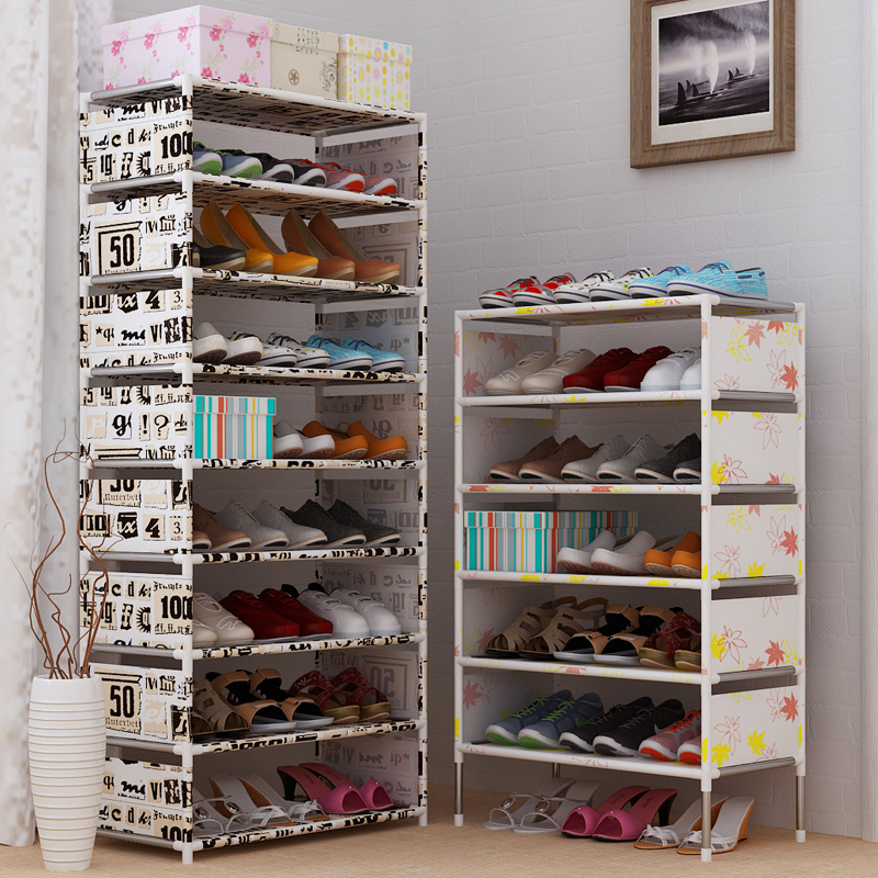 Home Shoe Simple Modern Small Shelf Economical Multi Layer Embly Dust