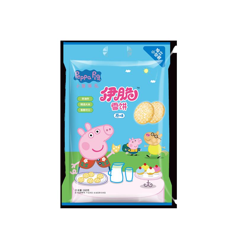 添乐卡通王小猪佩奇雪饼640g