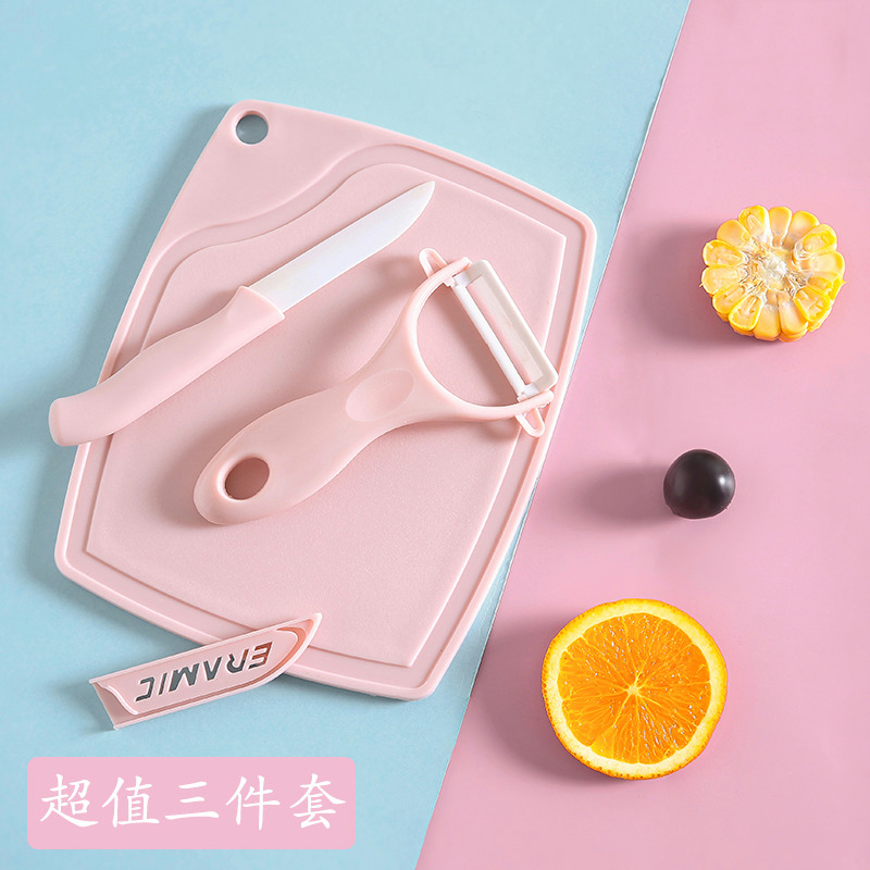 Кухонная посуда панель наковальня панель 3 накладки Керамический нож для кухонной посуды