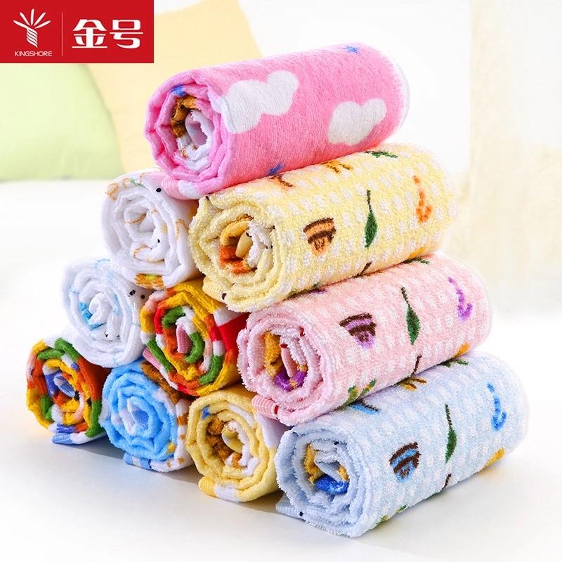 Kim, một chiếc khăn nhỏ dày mềm và thấm Khăn bông nhà con bé khăn bông nhỏ khăn mặt - Khăn tắm / áo choàng tắm