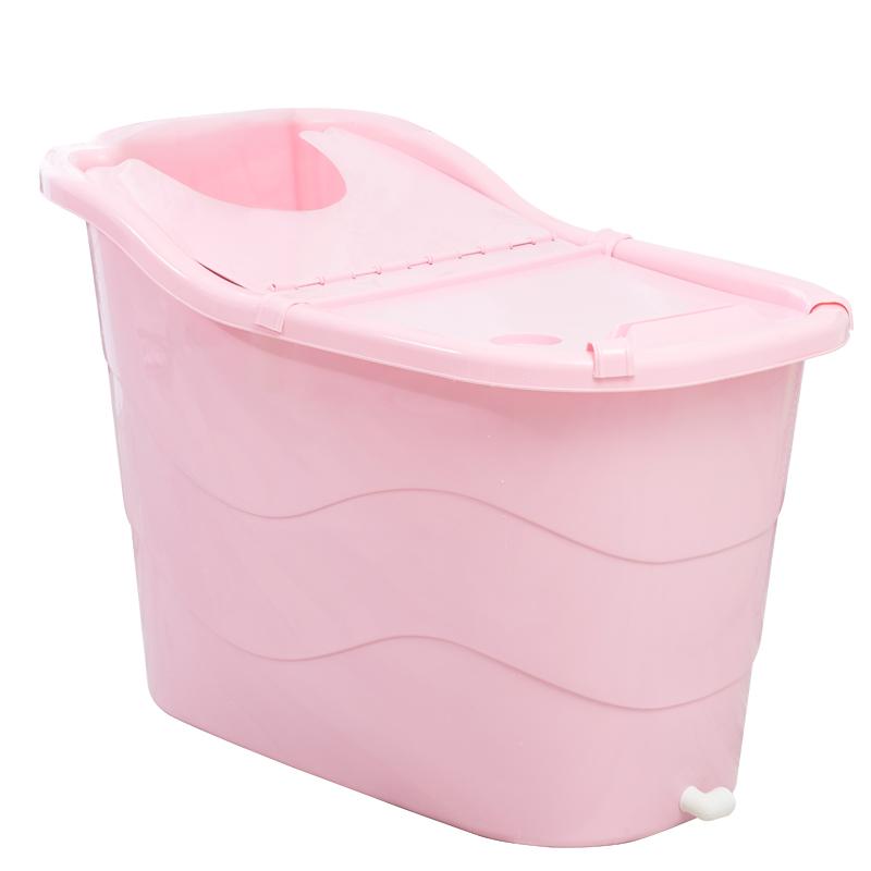 成人浴桶加厚塑料超大号儿童宝宝洗澡桶家用木沐浴桶缸浴盆泡澡桶