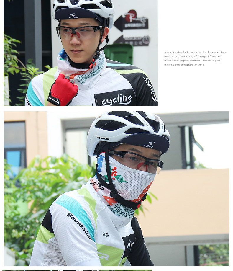 11 15] MTP Riding Mask Covers Half Face Men and Women Summer