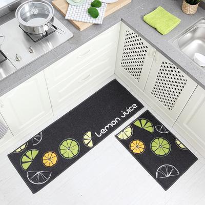 厨房地垫吸水长条垫子门垫地毯脚垫