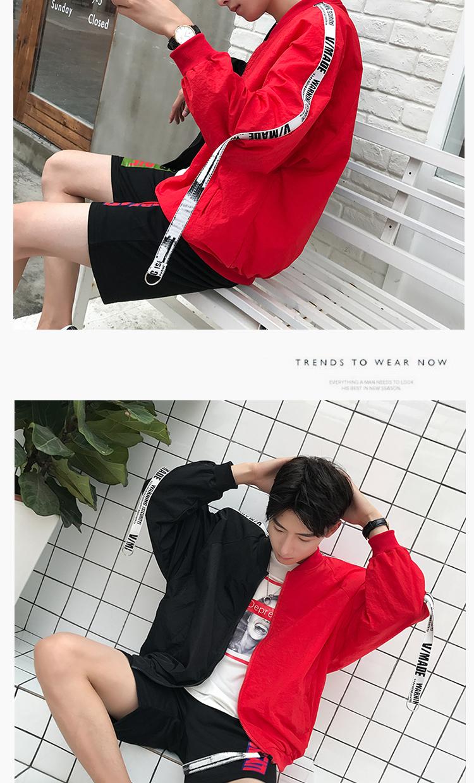 Teen chàng trai áo khoác mùa thu nhỏ tươi Hàn Quốc phiên bản của xu hướng của junior học sinh trung học mùa thu đa năng văn học đẹp trai quần áo