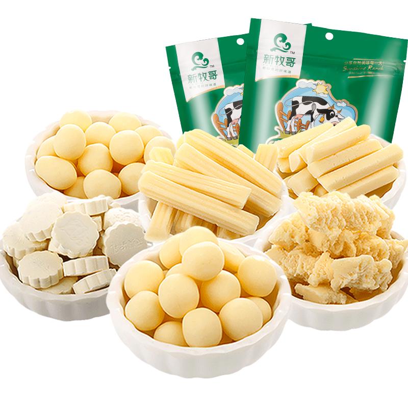 新牧哥 内蒙古6种口味奶酪 300g