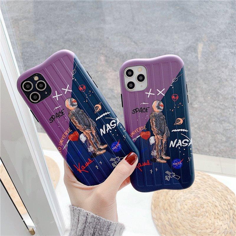 Thích hợp cho Apple xs87plus phi hành gia vỏ điện thoại di động iphone11promax vỏ bảo vệ xr silicon mềm bao gồm tất cả - Túi điện thoại