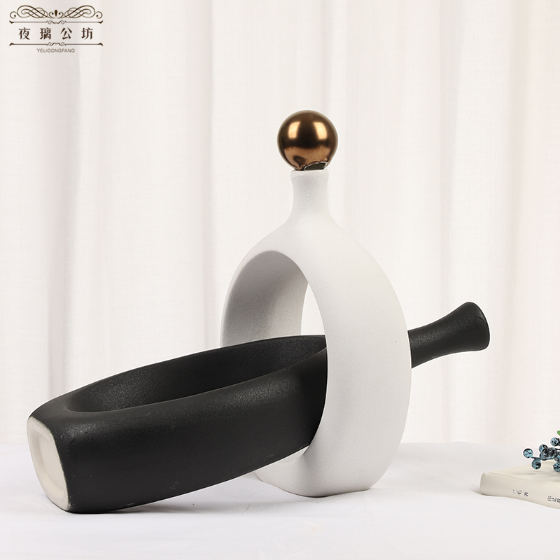 I and contracted desktop furnishing articles sitting room adornment decorate the Nordic household ceramics creative wedding gift small ornament