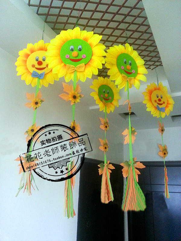 How To Hang Decorations From Classroom Ceiling