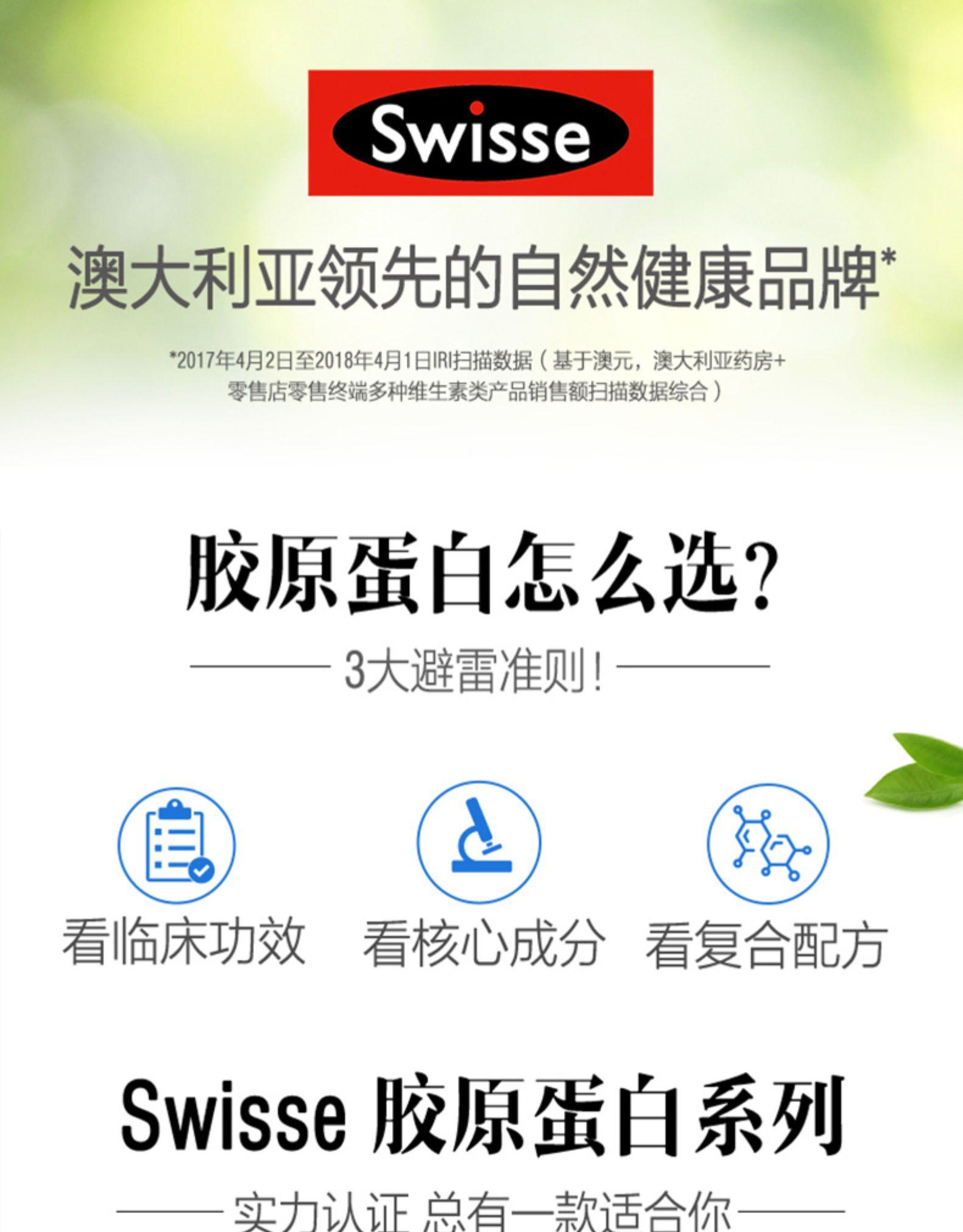 意大利热销Swisse斯维诗口服玻尿酸水光片胶原蛋白21天挑战水光肌 我们的产品 第1张