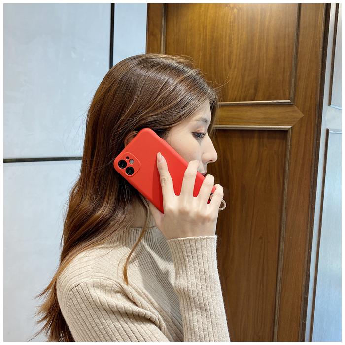 iphone12適用蘋果11斜挎12promax背包式xs斜背手機殼iPhone8plus掛繩7背帶
