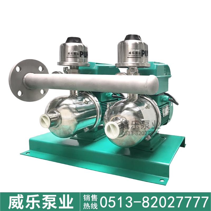 DYCW4-20X2威乐泵业变频增压泵互用互备泵组智能变频恒压水泵